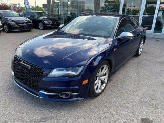 Used 2014 Audi S7 NAVIGATION BCAMERA AWD for sale in Calgary, AB