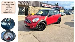Used 2014 MINI Cooper Countryman FWD 4dr COUNTRYMAN SAFETY NO ACCIDENT PANORAMIC LE for sale in Oakville, ON
