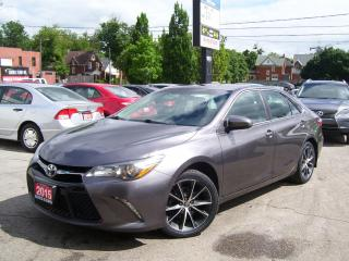Used 2015 Toyota Camry XSE,ONE OWNER,GPS,BLUETOOTH,CERTIFIED,HEATED SEATS for sale in Kitchener, ON