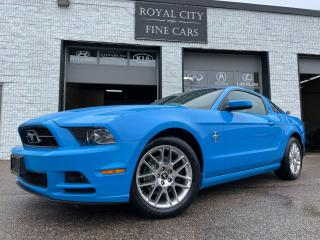 Used 2014 Ford Mustang 6 SPEED MANUAL // V6 // ONE OWNER // 305HP for sale in Guelph, ON