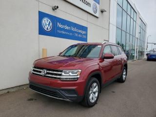 Used 2018 Volkswagen Atlas Trendline - V6 AWD - CERTIFIED PRE OWNED for sale in Edmonton, AB