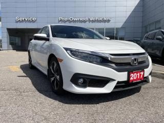 Used 2017 Honda Civic Touring ACCIDENT FREE TRADE WITH ONL 37392 KMS. for sale in Toronto, ON