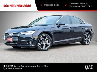 Used 2017 Audi A4 2.0T Technik quattro 7sp S tronic for sale in Mississauga, ON