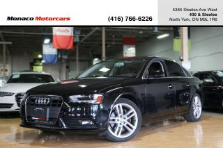 Used 2013 Audi A4 PREMIUM PLUS - SUNROOF|NAVIGATION|HEATED SEATS for sale in North York, ON
