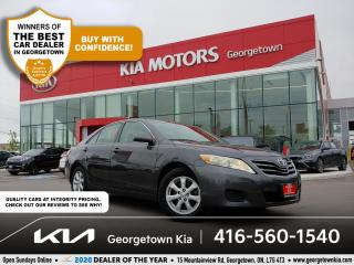 Used 2011 Toyota Camry LE | CLN CRFX | CRUISE | PWR GROUP | ALLOYS | 53 K for sale in Georgetown, ON