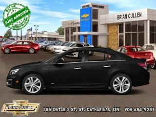 Used 2015 Chevrolet Cruze LTZ for sale in St Catharines, ON