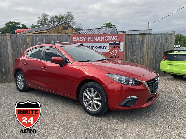 2016 Mazda MAZDA3 GS Low Kilometers and set up to carry Bicycles or Kayaks.