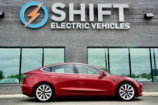 Used 2018 Tesla Model 3 LONG RANGE ALL WHEEL DRIVE ENHANCED AUTOPILOT, SPORT WHEELS for sale in Oakville, ON
