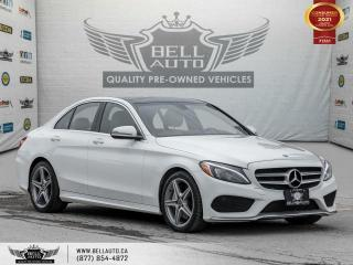 Used 2017 Mercedes-Benz C-Class C 300, AWD, AMG PKG, Navi, RearCam, Pano, NoAccident for sale in Toronto, ON