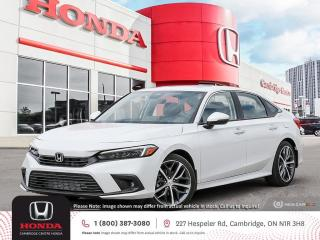 New 2022 Honda Civic Touring APPLE CARPLAY™ & ANDROID AUTO™   GPS NAVIGATION   POWER SUNROOF for sale in Cambridge, ON
