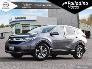Used 2018 Honda CR-V LX -  FUEL EFFICIENT SUV - LOW KMS - NO ACCIDENTS for sale in Sudbury, ON