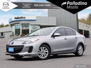 Used 2013 Mazda MAZDA3 GS-SKY- ONE OWNER - CLEAN VEHICLE FOR YEAR - CERTIFIED for sale in Sudbury, ON