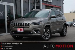 Used 2019 Jeep Cherokee OVERLAND for sale in Chatham, ON