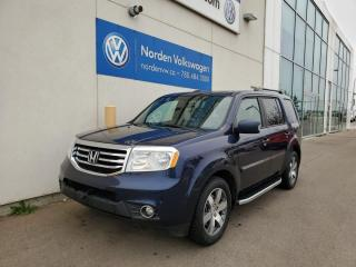 Used 2015 Honda Pilot TOURING AWD | DVD'S | SUNROOF | NAVI | LEATHER | HTD SEATS for sale in Edmonton, AB
