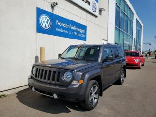 Used 2016 Jeep Patriot HIGH ALTITUDE 4WD | LEATHER | SUNROOF | HTD SEATS for sale in Edmonton, AB