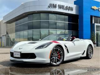 Used 2018 Chevrolet Corvette GRANDSPORT CONVERTIBLE 3LT AUTO 6.2L NAV LEATHER for sale in Orillia, ON