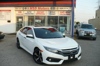 Used 2018 Honda Civic Touring NAVI/LEATHER/ROOF for sale in Toronto, ON