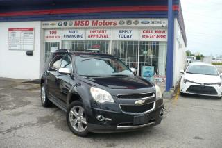 Used 2011 Chevrolet Equinox LTZ  LEATHER/ROOF/BACK UP CAMERA for sale in Toronto, ON