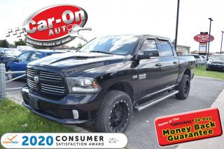 Used 2013 RAM 1500 Sport Crew Cab Leather 4X4| NEW ARRIVAL for sale in Ottawa, ON