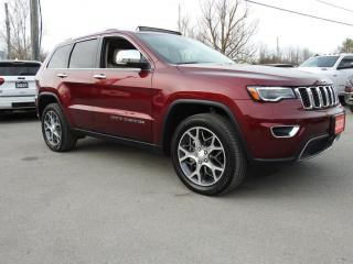 Used 2020 Jeep Grand Cherokee Limited 4X4- TOW- Adaptive- Panoroof- 9,800 KMS for sale in Trenton, ON