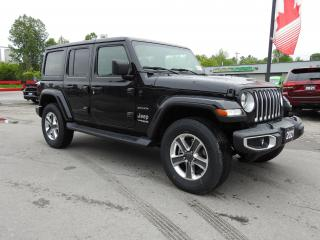 New 2021 Jeep Wrangler Unlimited Sahara for sale in Trenton, ON