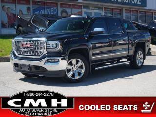 Used 2017 GMC Sierra 1500 SLT  Z71 NAV CAM ROOF LEATH HTD-S/W 20-AL for sale in St. Catharines, ON