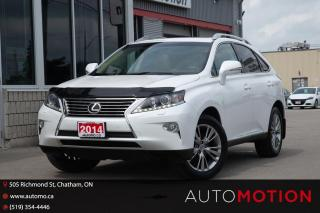 Used 2014 Lexus RX 350 LOCAL TRADE. IMMACULATE CONDITION. MUST SEE! for sale in Chatham, ON