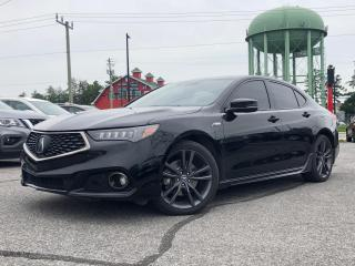 Used 2018 Acura TLX Tech A-Spec A-SPEC for sale in Stittsville, ON