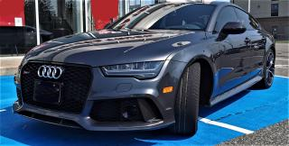 Used 2017 Audi RS 7 4.0T V 8 PERFORMANCE / LOW KM / MINT CONDITION for sale in Burlington, ON