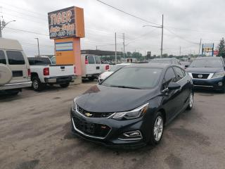 Used 2017 Chevrolet Cruze LT*ALLOYS*TOUCH SCREEN*HATCHBACK*ONLY 56,000KMS* for sale in London, ON
