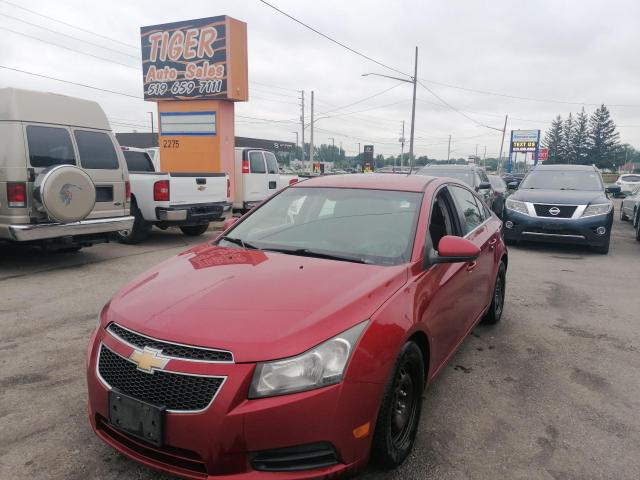 2011 Chevrolet Cruze Eco w/1SA**MANUAL*RUNS AND DRIVES*AS IS SPECIAL