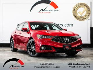 Used 2019 Acura TLX w/A-Spec Pkg/Sports pkg/Navi/blindspot/back-up cam for sale in Vaughan, ON