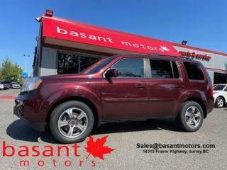 Used 2015 Honda Pilot Sunroof, DVD, Heated Seats, Backup Cam!! for sale in Surrey, BC