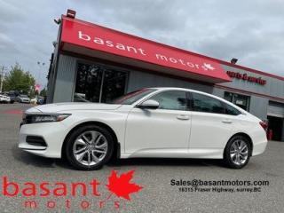 Used 2019 Honda Accord Sedan Backup Cam, Heated Seats, Low KMs!! for sale in Surrey, BC