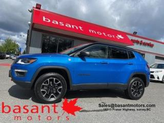 Used 2019 Jeep Compass Trailhawk, Nav, Backup Camera, Low KMs!! for sale in Surrey, BC