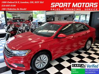 Used 2019 Volkswagen Jetta Comfortline+Camera+Bluetooth+Cruise+CLEAN CARFAX for sale in London, ON