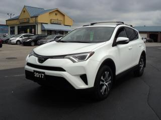 Used 2017 Toyota RAV4 LE AWD 2.5L HeatedSeats BackCam for sale in Brantford, ON