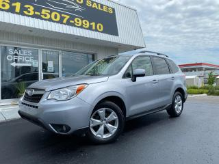 Used 2015 Subaru Forester 2.5i Touring Package Just in! AWD! Pano Roof! Power Lift Gate! Heated Seats! for sale in Kingston, ON