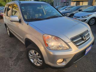 Used 2006 Honda CR-V EX-L/AWD/AUT/LEATHER/ROOF/LOADED/ALLOYS for sale in Scarborough, ON