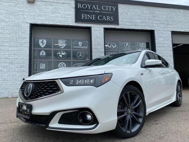 2018 Acura TLX A-SPEC V6 AWD// LOADED// RED LEATHER