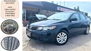 Used 2013 Kia Forte 4dr Sdn Auto LX Plus NEW TIRES NO ACCIDENT SAFETY for sale in Oakville, ON