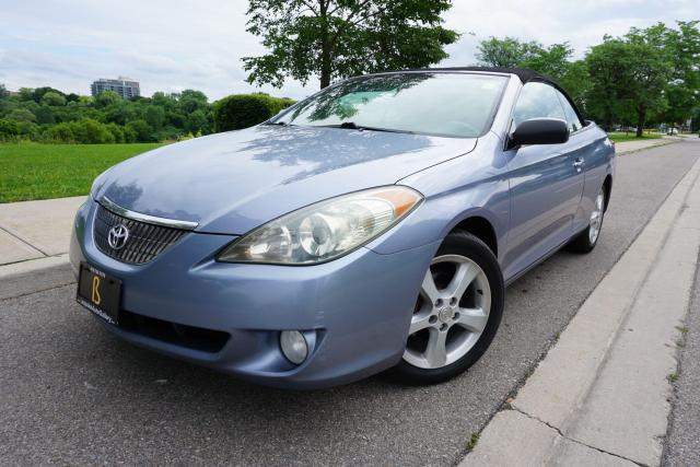 2004 Toyota Camry Solara CONVERTIBLE / CERTIFIED / SUMMER READY / LOCAL CAR