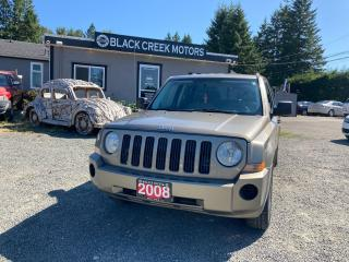 Used 2008 Jeep Patriot SPORT for sale in Black Creek, BC