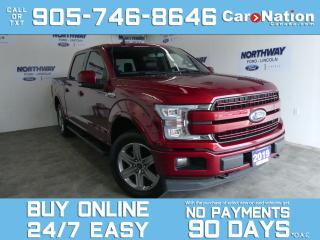 Used 2019 Ford F-150 LARIAT |4X4 |CREW CAB | 502A |PANO ROOF | 20