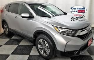 Used 2017 Honda CR-V LX 2WD - One Owner, Clean Vehicle for sale in Cornwall, ON