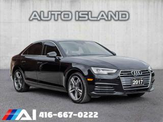 Used 2017 Audi A4 TECHNIK*AUTOMATIC**NAVIGATION*LOW KMS for sale in North York, ON