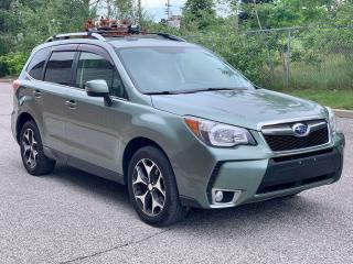 Used 2014 Subaru Forester Touring | AWD | LEATHER | NO ACCIDENTS for sale in Barrie, ON
