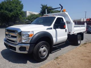 Used 2011 Ford F-450 SD Dump Truck 3 passenger Regular Cab Dually  2WD for sale in Burnaby, BC