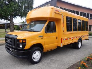 Used 2016 Ford Econoline E450 13 passenger bus for sale in Burnaby, BC