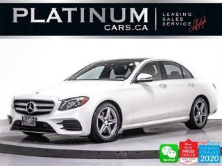 Used 2017 Mercedes-Benz E-Class E400 4MATIC, PREMIUM PKG, CAM, NAV, PANO, APPLE for sale in Toronto, ON